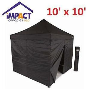 NEW IMPACT POP UP CANOPY TENT AOLKDB10-RGWT 170345676 TENT BLACK ALUMINIUM W/ SIDEWALLS  sc 1 st  Kijiji & Impact Canopy | Kijiji in Ontario. - Buy Sell u0026 Save with ...