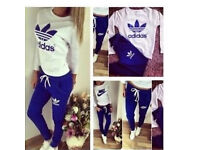 Adidas and Nike tracksuit