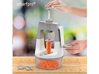 Vegetable Spiralizer ScharfPro™ Vertical Self-Pressure