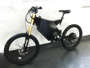 new 2018 electric motorbike 5000 watts FULL SUSPENSION 75KMH