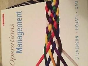 Operations management 5th edition (laurentian course)