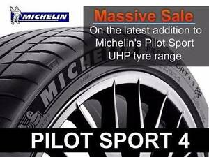 Michelin Pilot Sport 4 Supersale on NOW!!!!!!! Coopers Plains Brisbane South West Preview