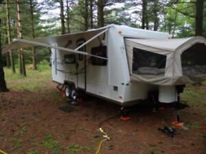 3 queen-Heated Hybrid-trailer for rent-Great Fall prices-del avl