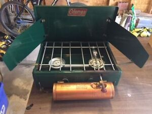 Coleman stove model 4M good condition lightly used.  $50.00.