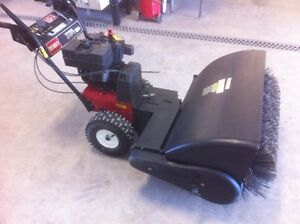 """36"""" sweeper and 24"""" snowblower all in one unit"""