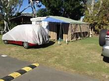 Caravan with full length annexe, shower, hot water Pialba Fraser Coast Preview