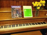 Music lessons for Seniors - Piano and Flute