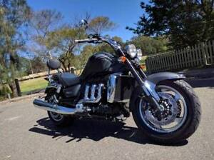 2010 Triumph Matte Black Rocket III Roadster Meadowbank Ryde Area Preview