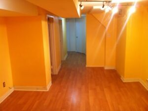 High Park 2-Bdrm Basement Apt. By The Subway-Available January 1