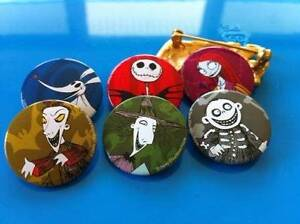 The Nightmare Before Christmas Pins / Buttons Mackay Mackay City Preview