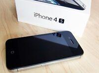 iPhone 4s Black 16GB Factory Unlocked Complete Box