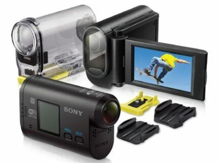 brandnew sony hdr-as30v with handheld grip LCD Mount Wantirna Knox Area Preview