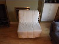 IKEA Lycksele chair bed / futon