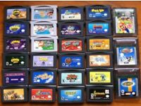LOTS OF GAMEBOY GAMES CALL NUMBER