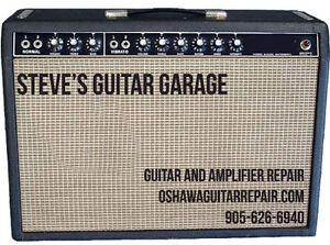 Amplifier and Guitar Servicing and Repair. Fast and Affordable