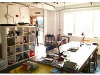CREATIVE STUDIO - OFFICE SPACE - CO-WORKING - FREE WIFI - DALSTON - HACKNEY - EAST