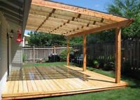 DECK, FENCE, SHED, GARAGE BUILDER and DECKS REPAIR