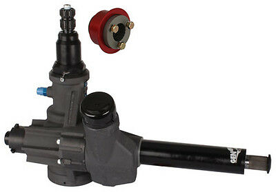 "KSE SPRINT CAR GEN2 BLACK POWER STEERING GEAR BOX UNIT,11"",16"",35,MAXIM,J&J,XXX"