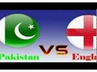 PAKISTAN V ENGLAND T20 MANCHESTER