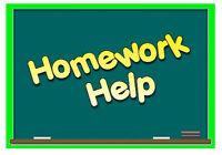 Got homework? We can help!