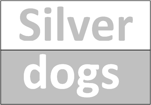 Silver Dog Charms