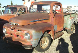 1951 or 1952 Ford or Mercury for parts - F1, F2, or F3
