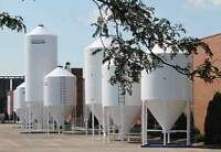 Grain Feed Pellet Storage Bins Silos