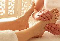 Foot Reflexology therapy