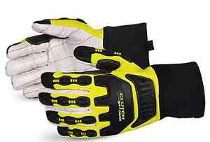 Clutch Gear Anti-Impact Oilfield Cotton/Poly Glove