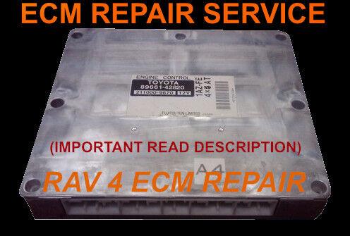 2004 Toyota Rav 4 Engine Computer Repair ECU Repair Service