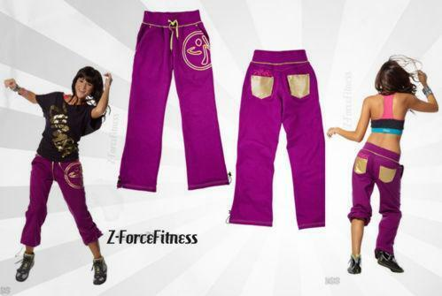 zumba sweatpants clothing shoes accessories ebay. Black Bedroom Furniture Sets. Home Design Ideas