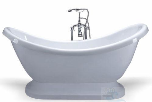 pedestal bathtub