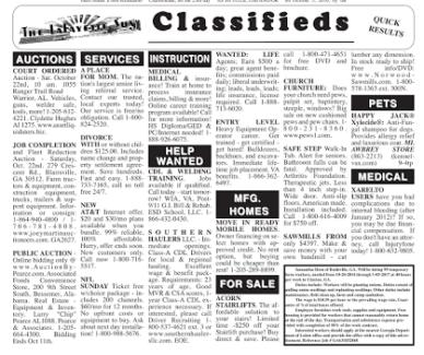 Business Ad Postings - 25 Australian Classified