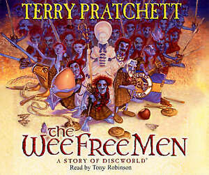 PRATCHETT,TERRY-WEE FREE MEN, THE (AUDIO BOOK)  CD NEW