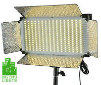 New adjustable (daylight/tungsten) LED PANELS! At a great price!