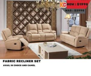 RECLINER SETS ON SALE ( FD 100)
