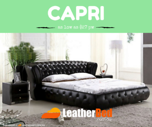 Largest Leather Bed Collection of Australia King Queen frame