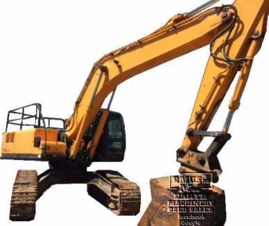 2009 Hyundai Excavator, Hi Track, Call 0477 97EMUS