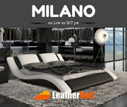 Largest Leather Bed Collection of Australia King Queen frame Docklands Melbourne City Preview