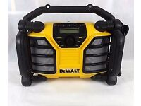 Dewalt site Radio looks new