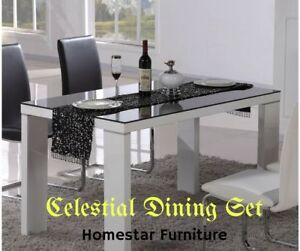 Brand New Celestial 7pc Dining Set,PU Leather Chairs Surry Hills Inner Sydney Preview