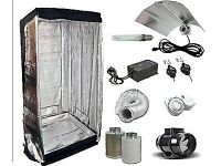 Indoor garden equipment. Tent, 400hps hydroponics