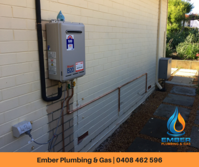 Hot Water Systems Perth VIEW PRICES - EMBER PLUMBING & GAS