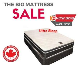QUEEN MATTRESS SALE BARMPTON | FREE DELIEVERY IN BRAMPTON (MAT42)
