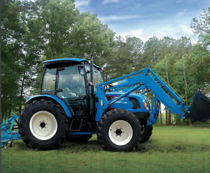 New 68HP LS tractor with Loader