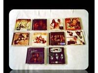 MUSIC CDS - R&B GROUPS - (11 discs) - FOR SALE