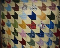 Mystery Masks home sewn quilt
