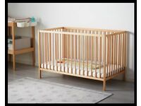 NEED GONE ASAP IKEA baby cot 4 months old