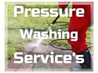 Pressure Washing, Gutter cleaning + Moss Removal Services