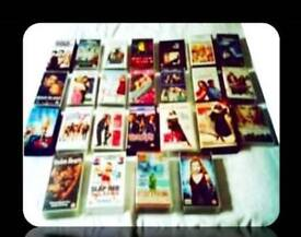 LEADING LADIES FILM BUNDLE - 25 FILMS - DVDS & VHS TAPES - FOR SALE